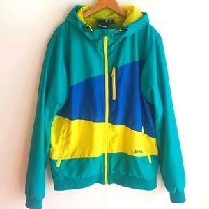 BENCH Iden Softshell Hooded Spring Jacket Size L